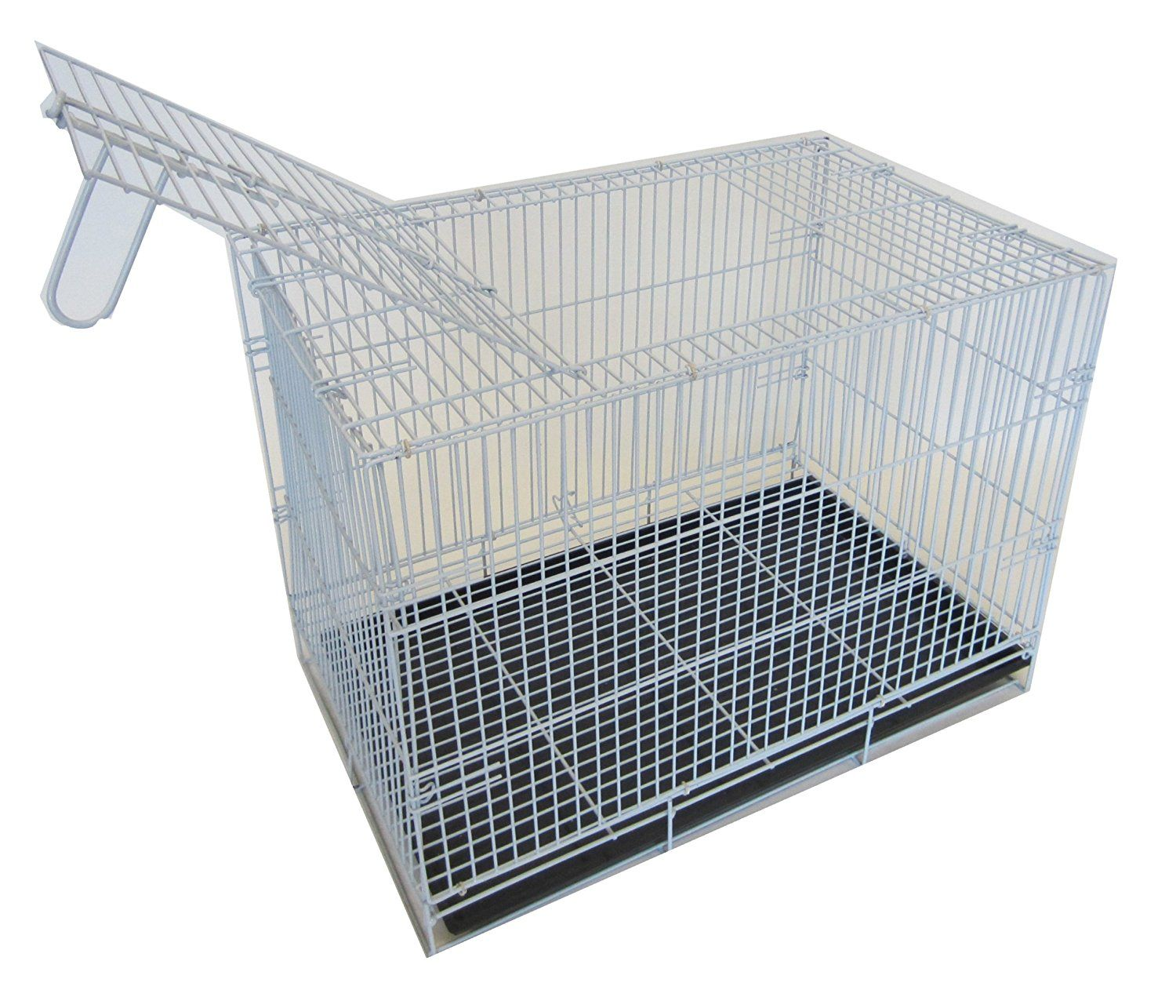 Yml 20 Inch Small Animal Crate With Wire Bottom Grate And Black Plastic Tray White Startling Review Available Here Dog Crates