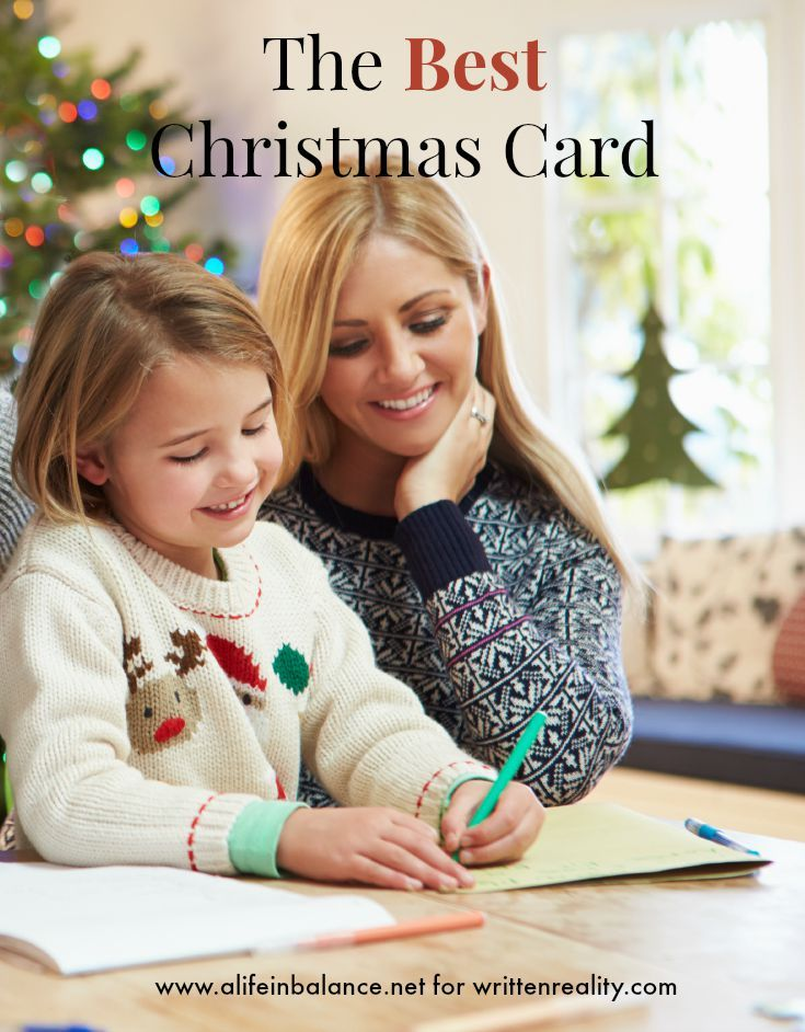 The Best Family Christmas Card | Family christmas, Craft activities ...