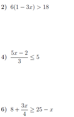 Solving multi step inequalities worksheet with answers ...