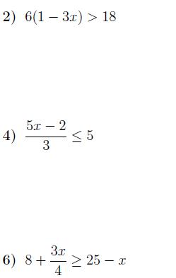 Solving Multi Step Inequalities Worksheet With Answers Multi Step Inequalities Solving Inequality