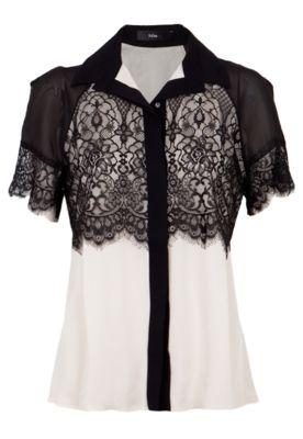 ec75ce98e86 Camisa Seda Talie Nk Gal Cinza - Compre Agora