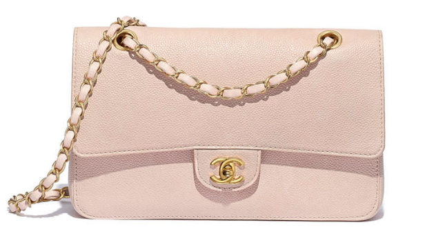 77156bf4a907b3 CHANEL Classic Flap Bag: Grained Calfskin + Gold-Tone Metal: Nude ...