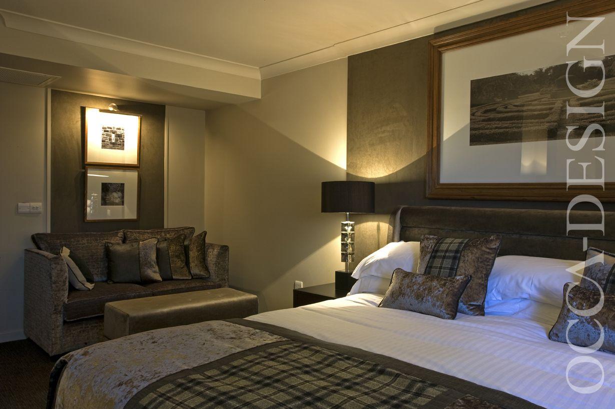 Hotel Interior, Bedroom Interior, Scottish Interior