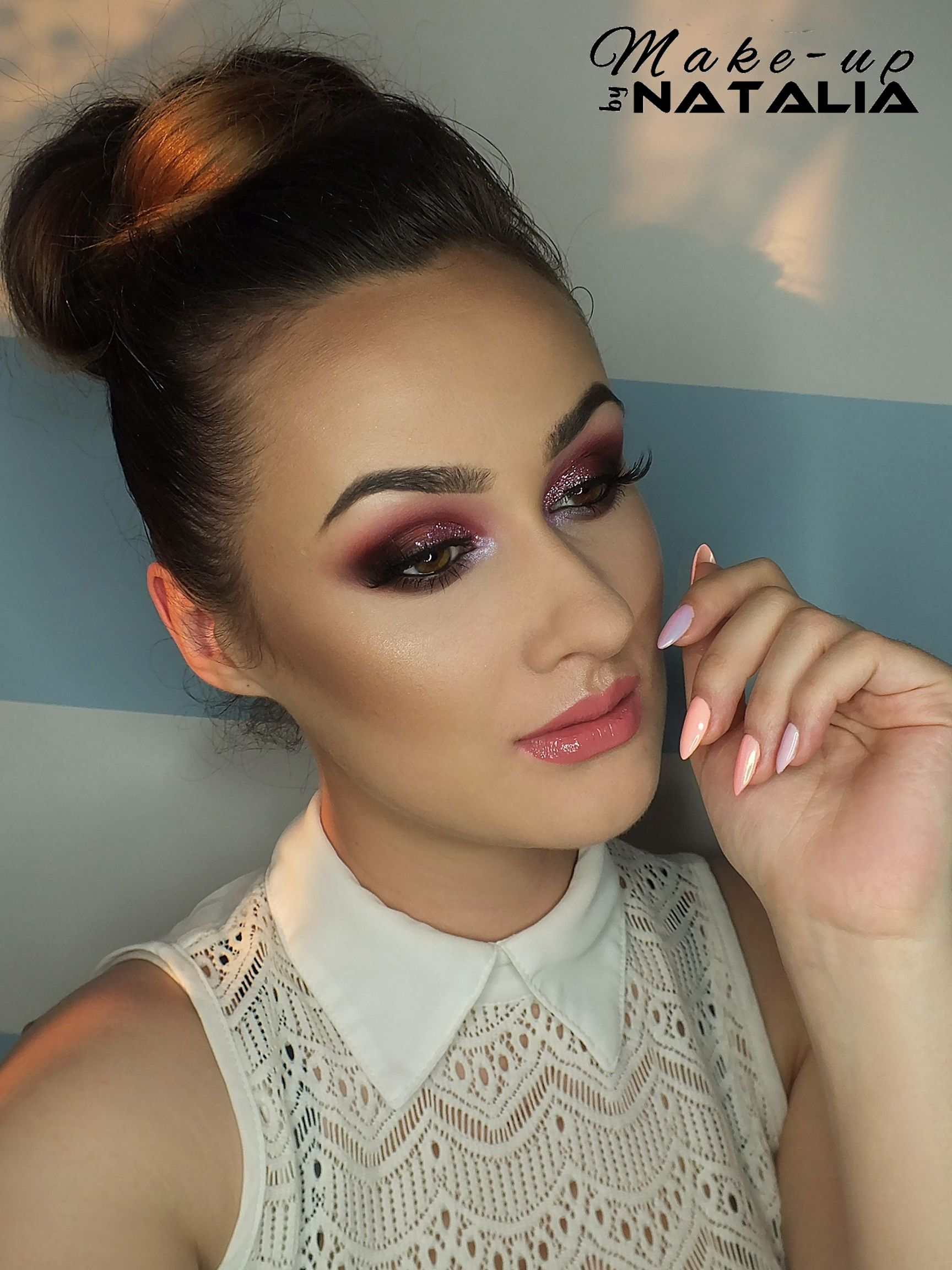 Check out our favorite burgundy inspired makeup look. Embrace your cosmetic addition at MakeupGeek.com!