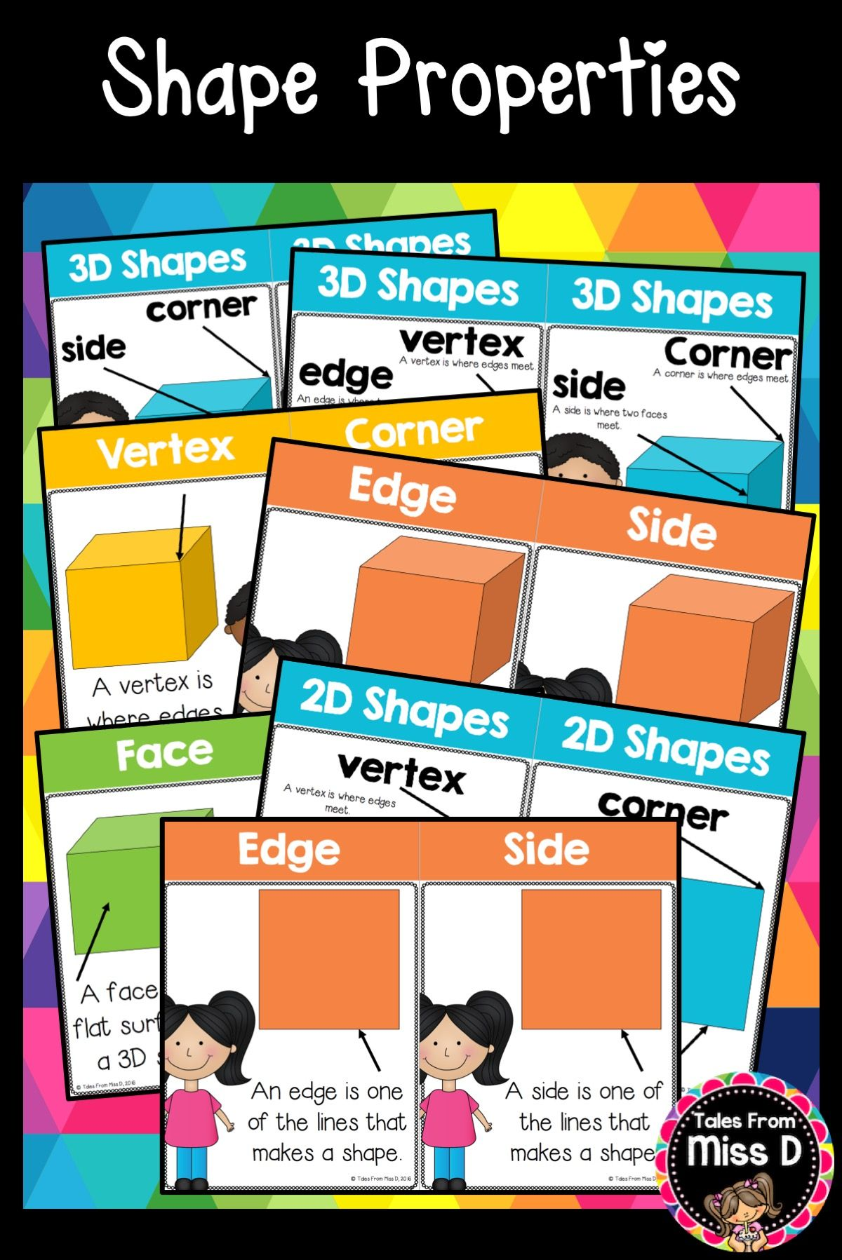 Properties Of Shapes Posters