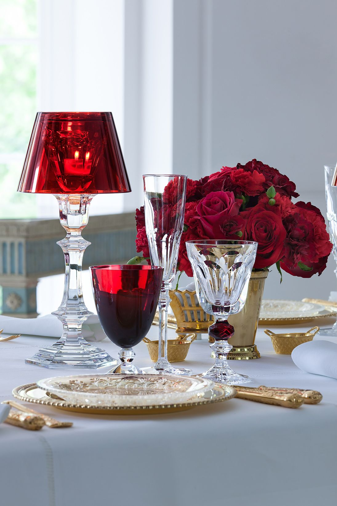 Andrewertheretassocies Romantic Table Setting Beautiful Table Settings Glass