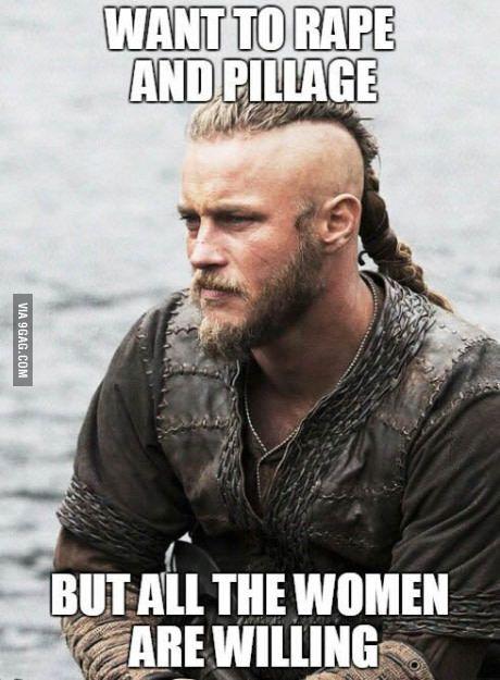 Sad Viking face...