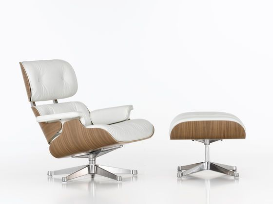 Vitra | Lounge Chair u0026 Ottoman | By Charles u0026 Ray Eames  sc 1 st  Pinterest : ottoman chaise lounge - Sectionals, Sofas & Couches