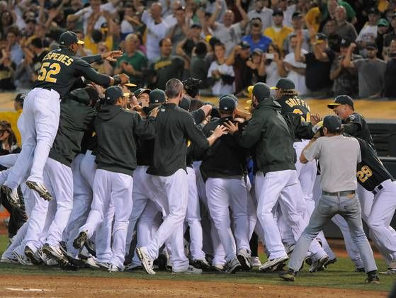 The 2012 Oakland Athletics are post-season bound for the 1st time in 6 years!!