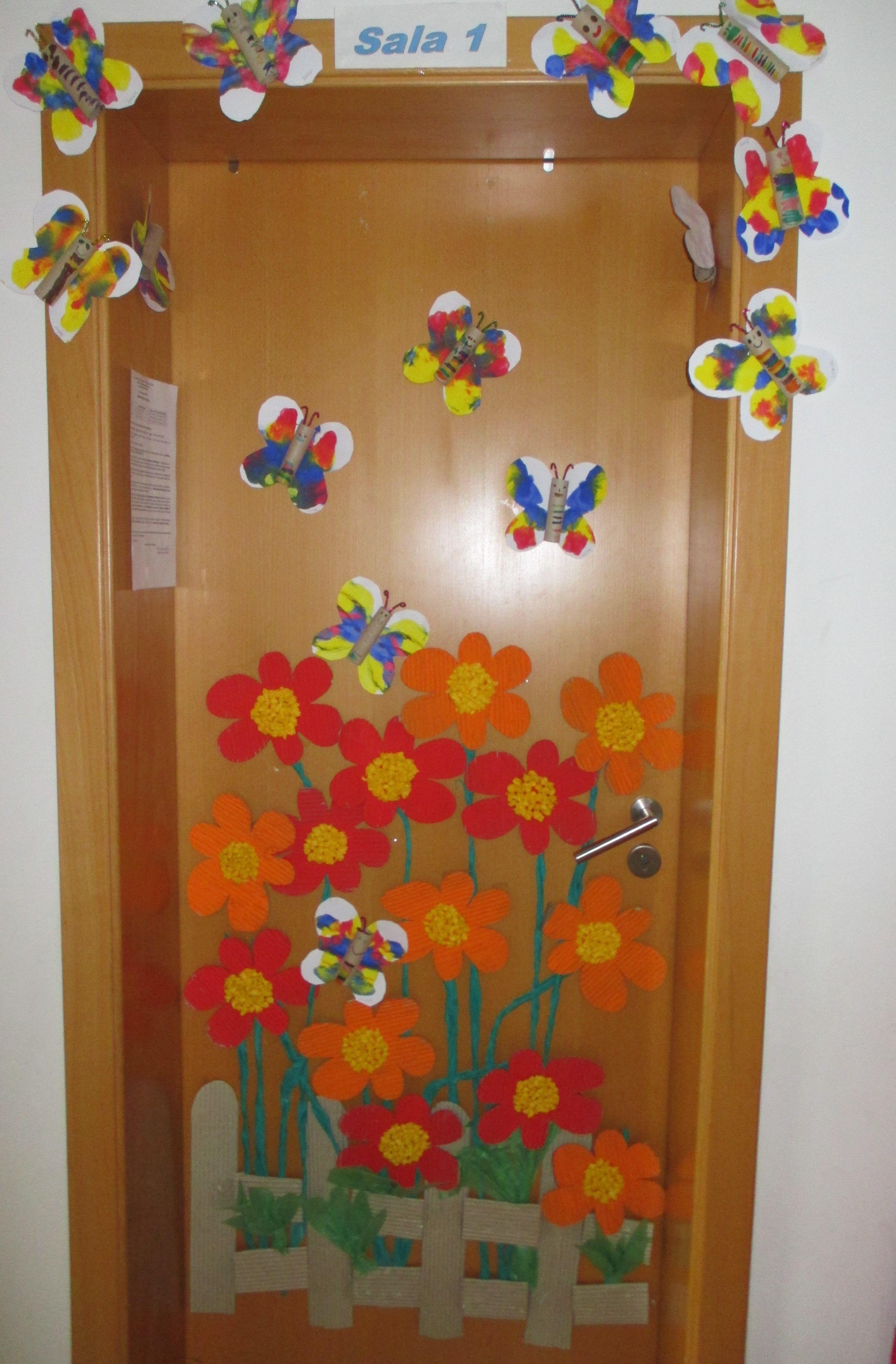 primavera | PUERTAS DEL AULA: ideas para decorarlas | Pinterest ...