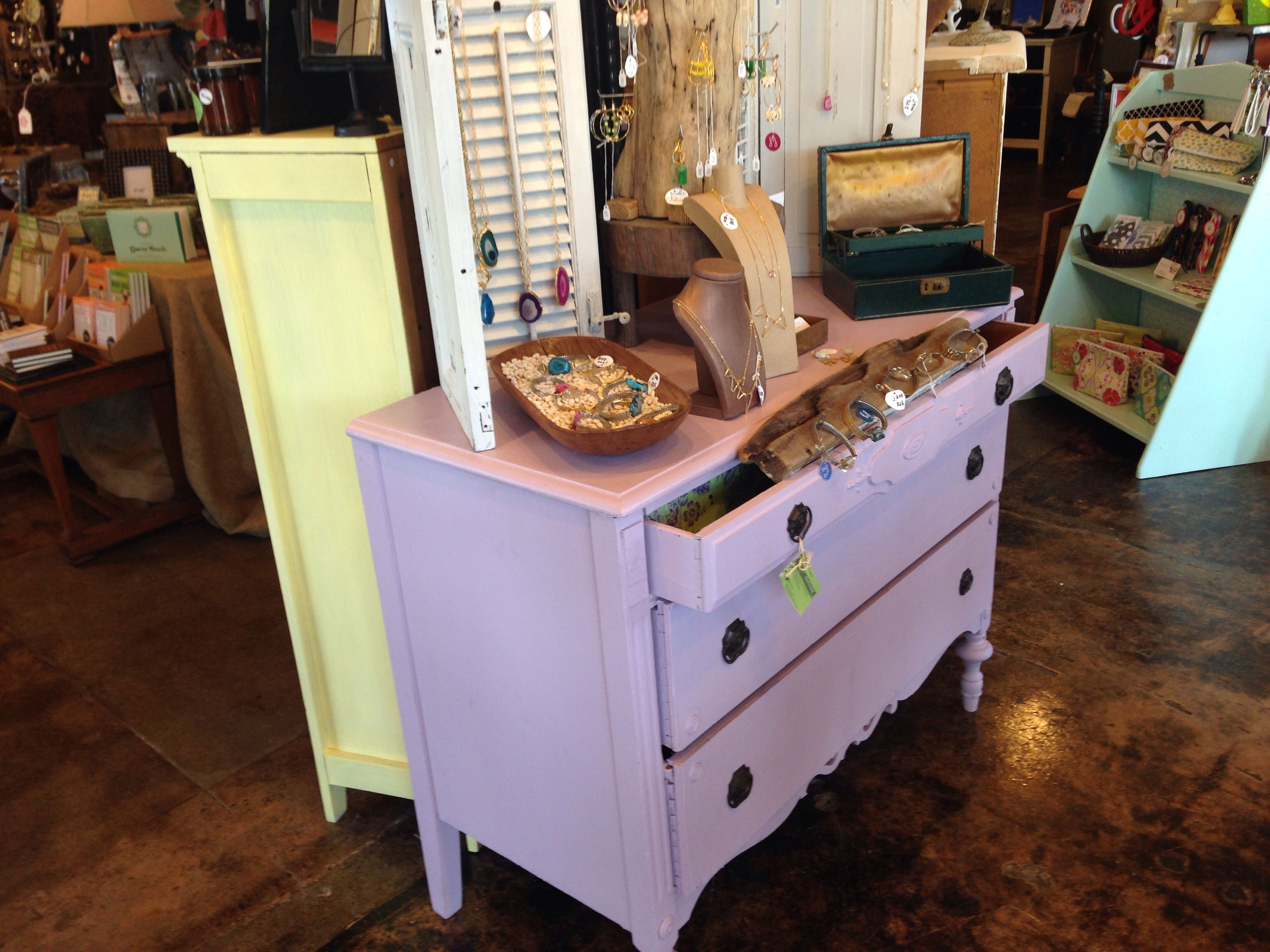 Painted Furniture At The Boulevard Sound End Charlotte Nc Love