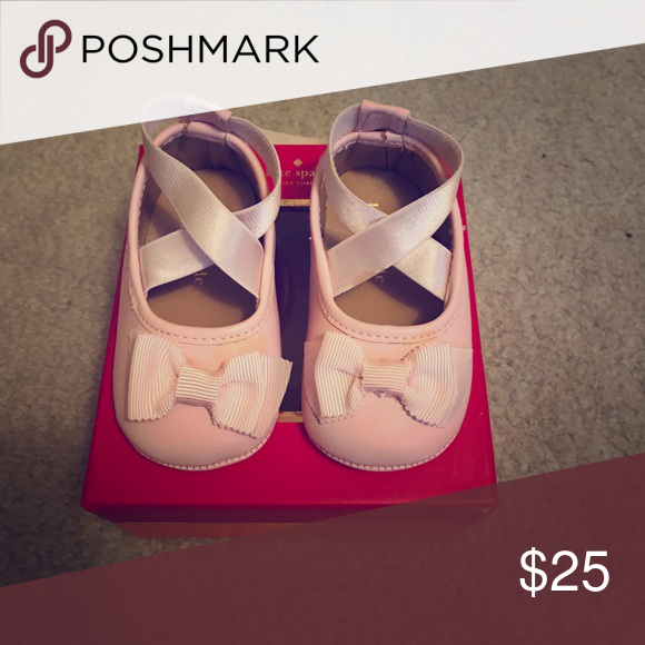 Kate spade crib shoes nb-3months. Super cute. Never worn. kate spade Shoes Baby & Walker