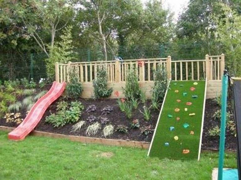 Garden on incline design tips #Gardenoninclinedesign in ... on Inclined Backyard Ideas id=41501