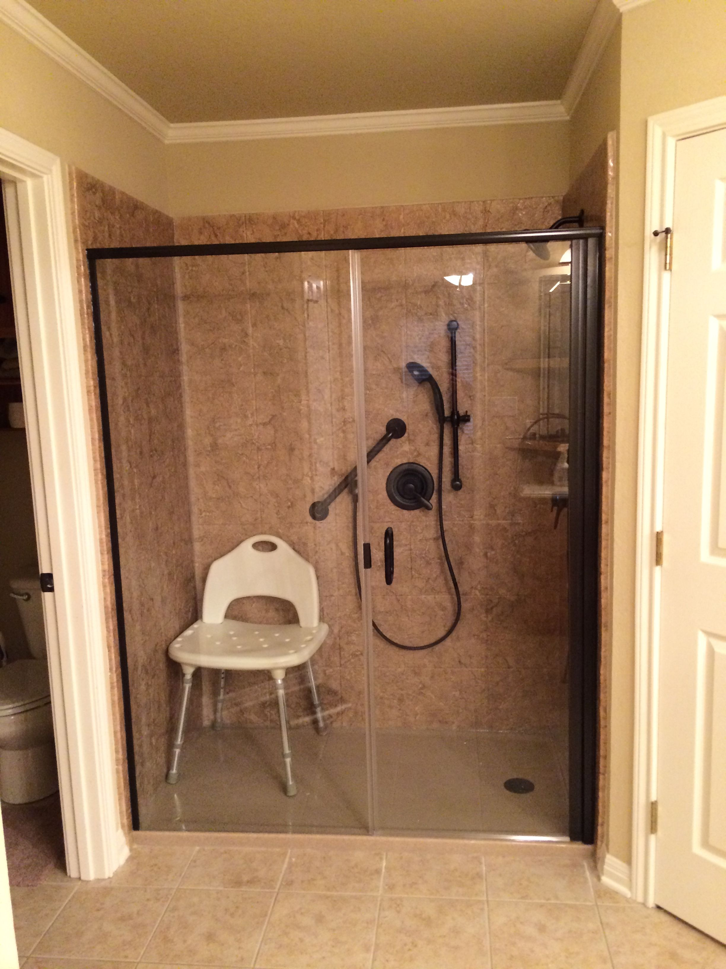 Rebath Walk In Shower Walk In Shower Shower Remodel