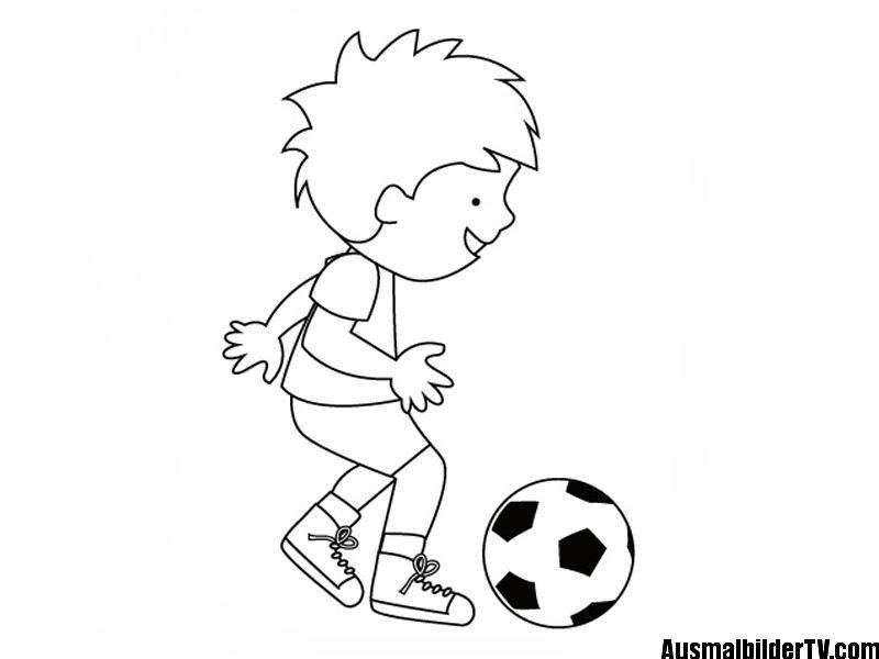 ausmalbilder kostenlos fußball spieler  ausmalbilder