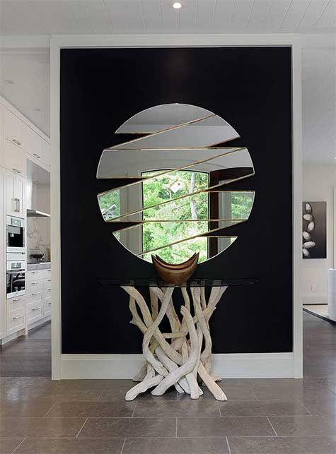 Grand miroir mural : 29 modèles de rêve pour votre intérieur