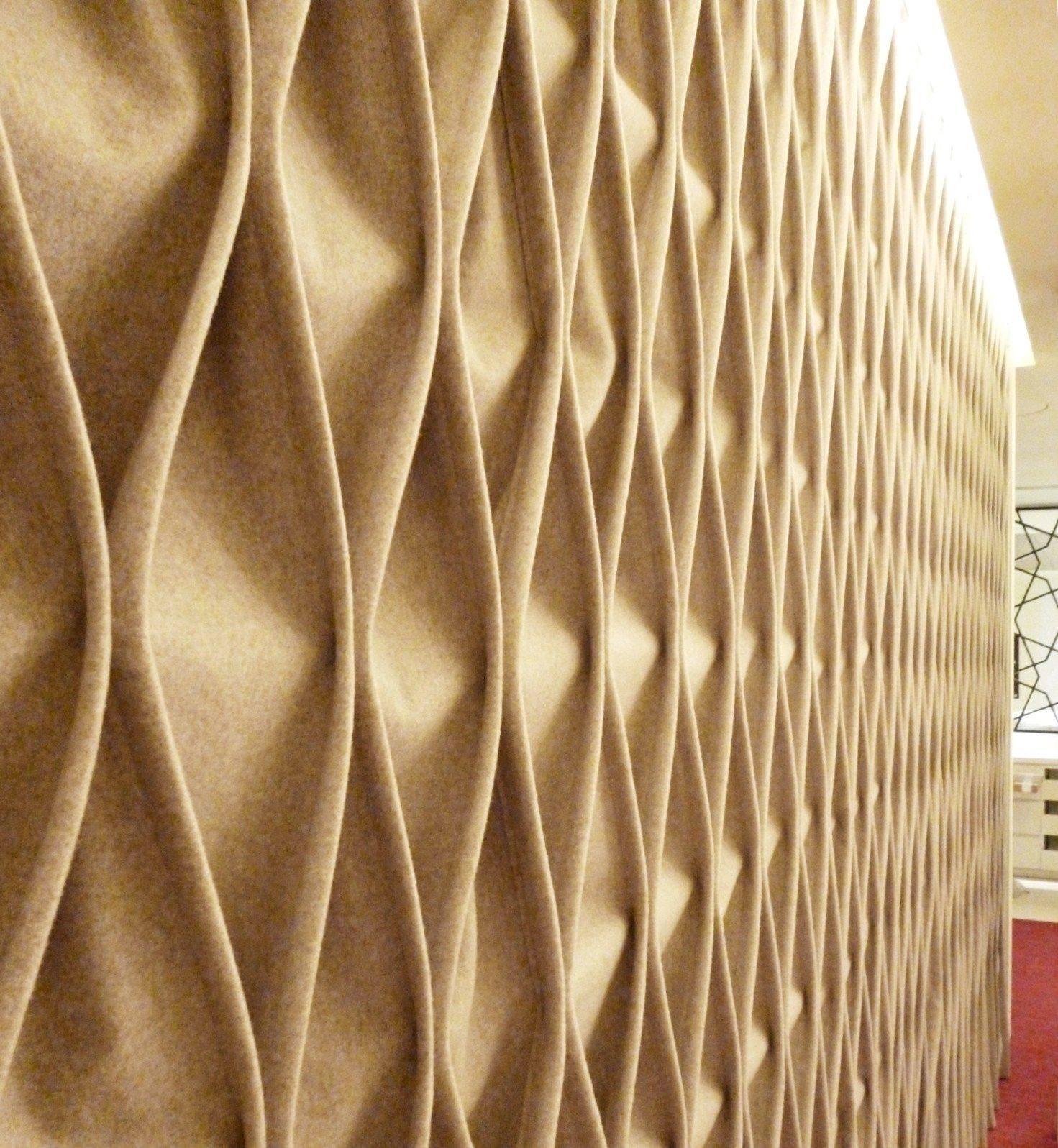 CABLE Fabric decorative acoustical panels by Anne Kyyrö Quinn design ...