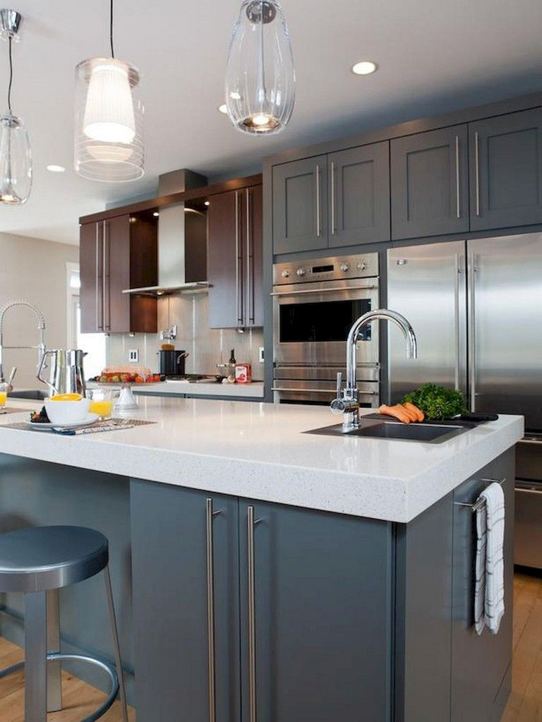 80 awesome modern kitchen island with seating ideas with on awesome modern kitchen design ideas id=92775