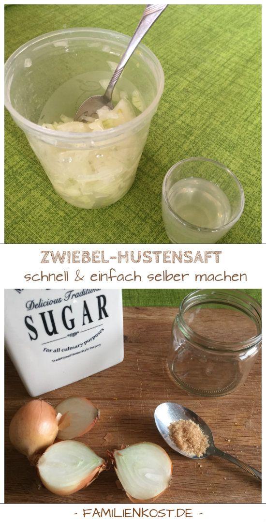 Photo of Zwiebelsaft gegen Husten selber machen: Zwiebelhustensaft