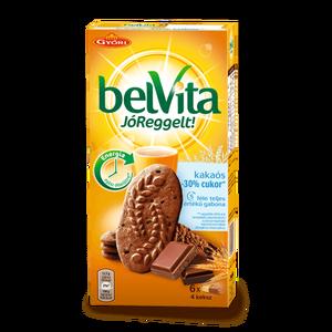 Belvita Chocolate Chip 30% less sugar Breakfast Biscuits ...