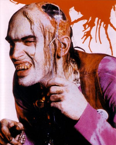 Chop Top - Texas Chainsaw Massacre 2 (1986)...one of the only gory films I enjoy.