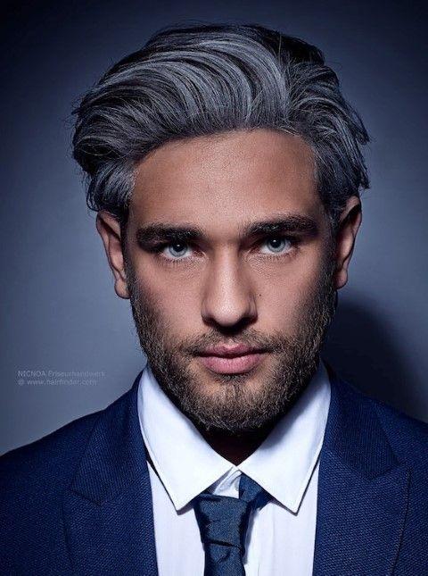 20 Gray unglaubliche frisuren für männer | Hairstyles For Men ...