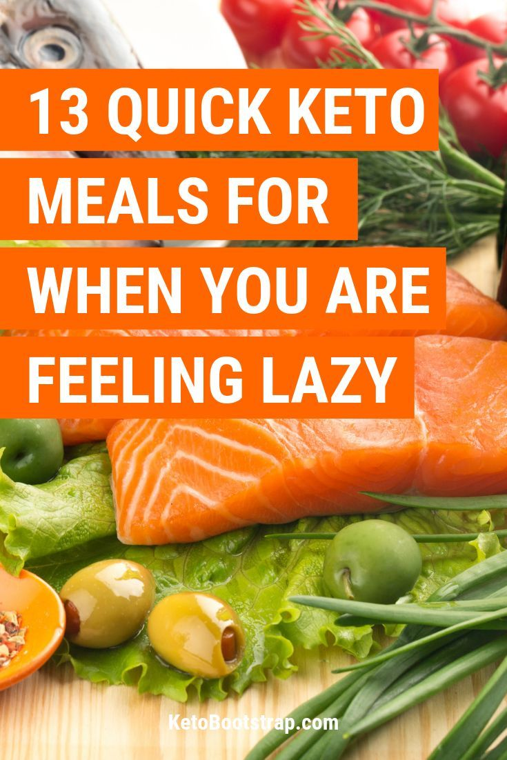 Keto Lazy: 11 Lazy Keto Meals for the Lazy Keto Person images