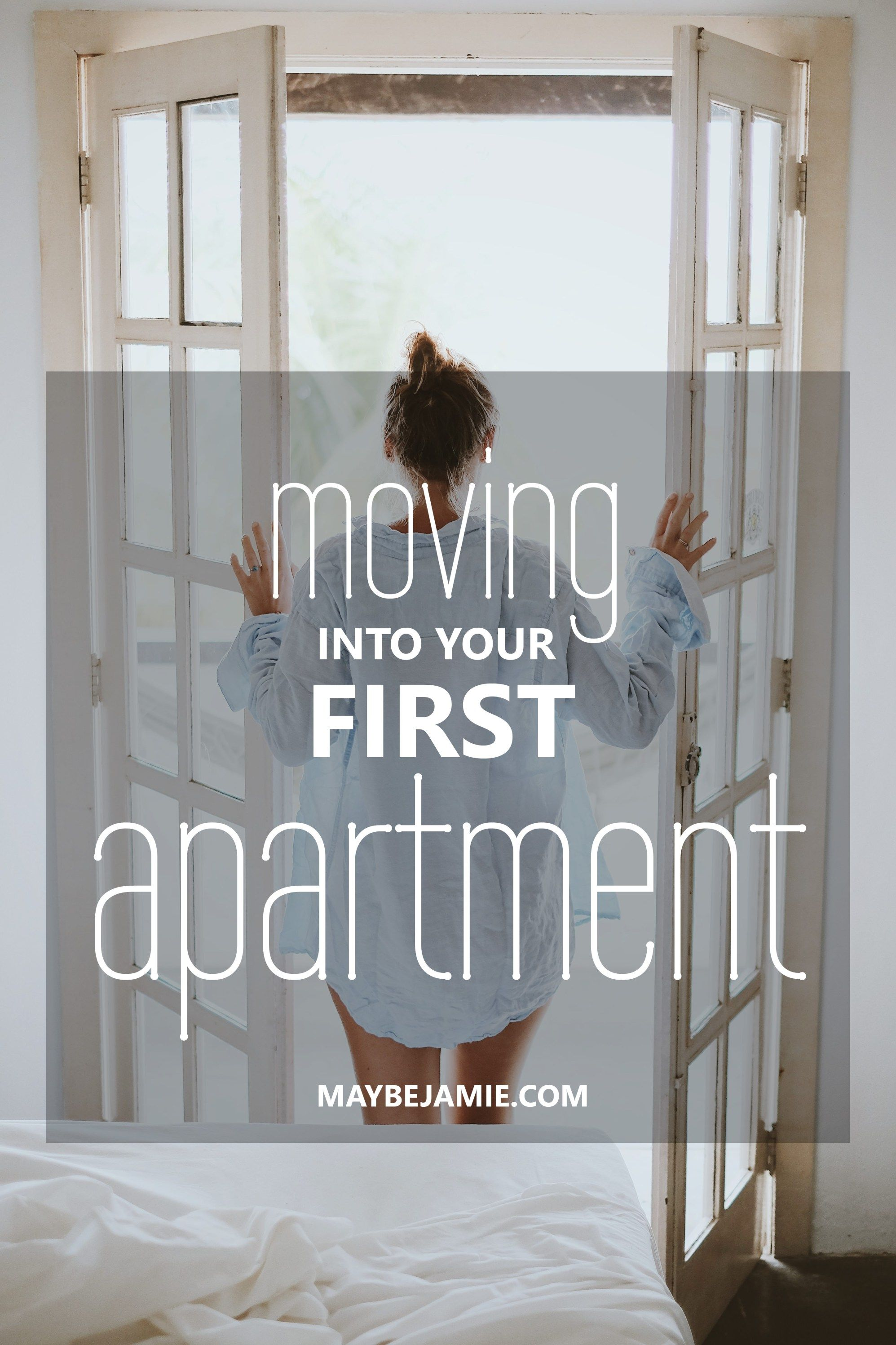 how to move into first apartment