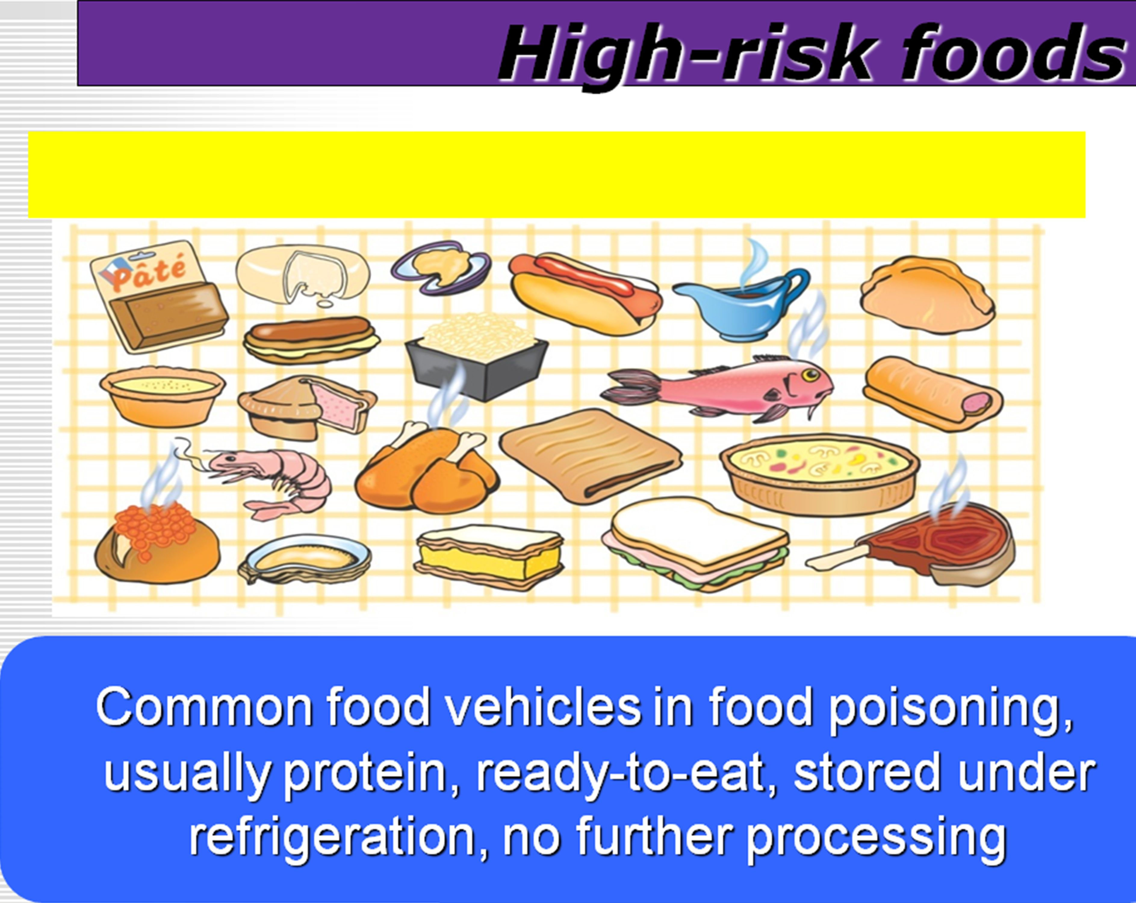 Foods With A High Risk Of Food Poisoning