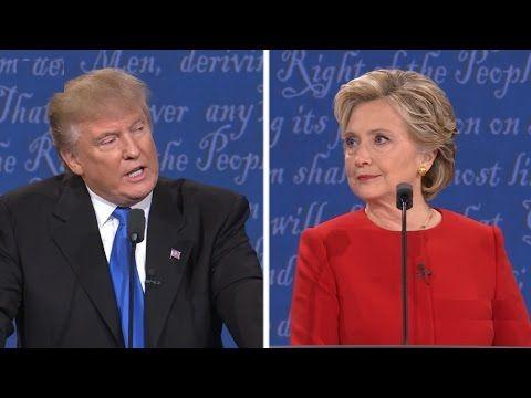 FULL: Donald Trump vs Hillary Clinton – First Presidential Debate 2016 –  Hofstra University NY