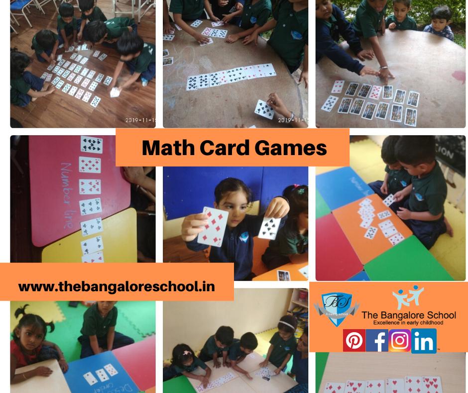 Photo of Math Card Games