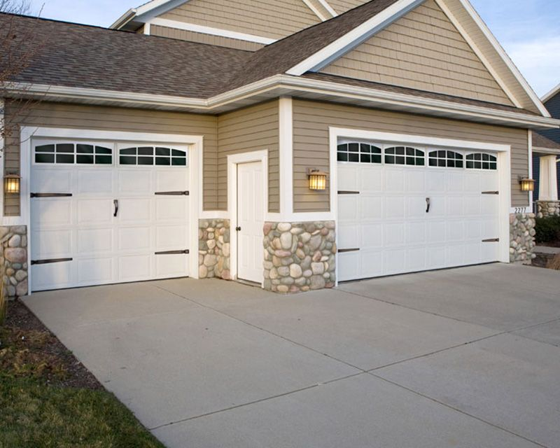 Signature Decor Windows Set Of 2 Garage Doors Garage Door Decor Garage Door Installation