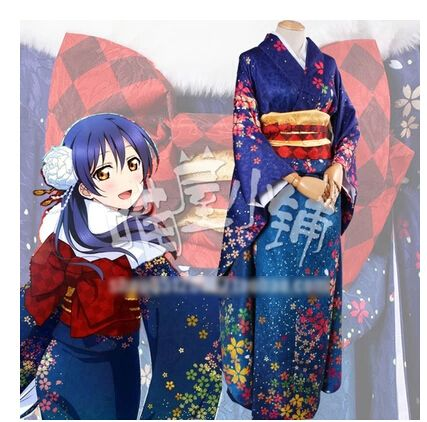 LOVE LIVE! Sonoda Umi New Year Uniforms Cosplay Kimono Free Shipping -in Costumes & Accessories from Novelty & Special Use on Aliexpress.com | Alibaba Group