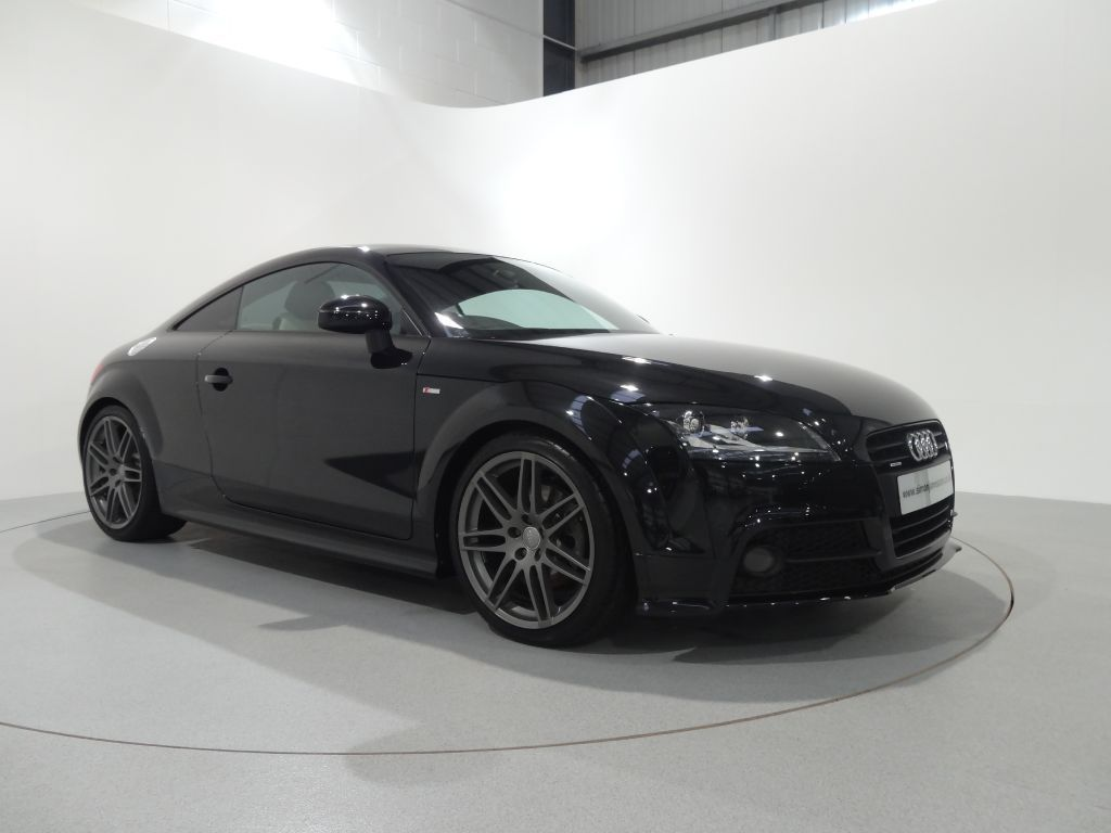 audi tt 2 0 tdi quattro s line black edition finished in phantom black with ivory fine nappa. Black Bedroom Furniture Sets. Home Design Ideas