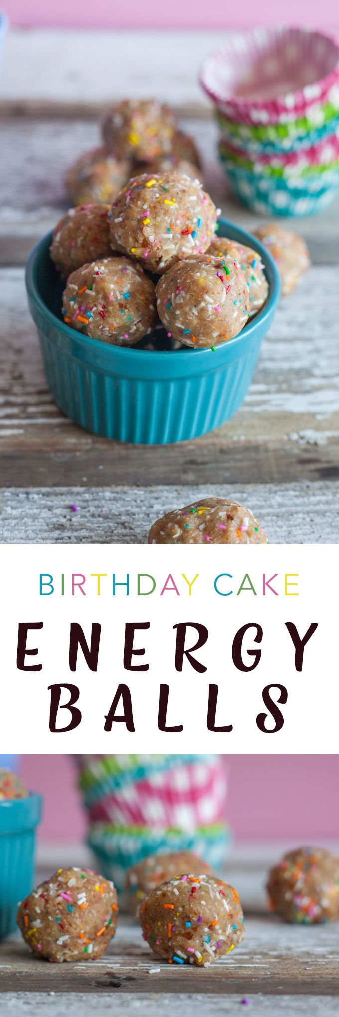 No Bake Energy Balls VEGAN Birthday Cake Recipe Snack games
