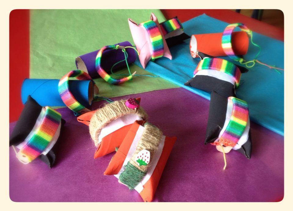 Pulseras con palitos de helado. Popsicle stick bracelets. | Made ...
