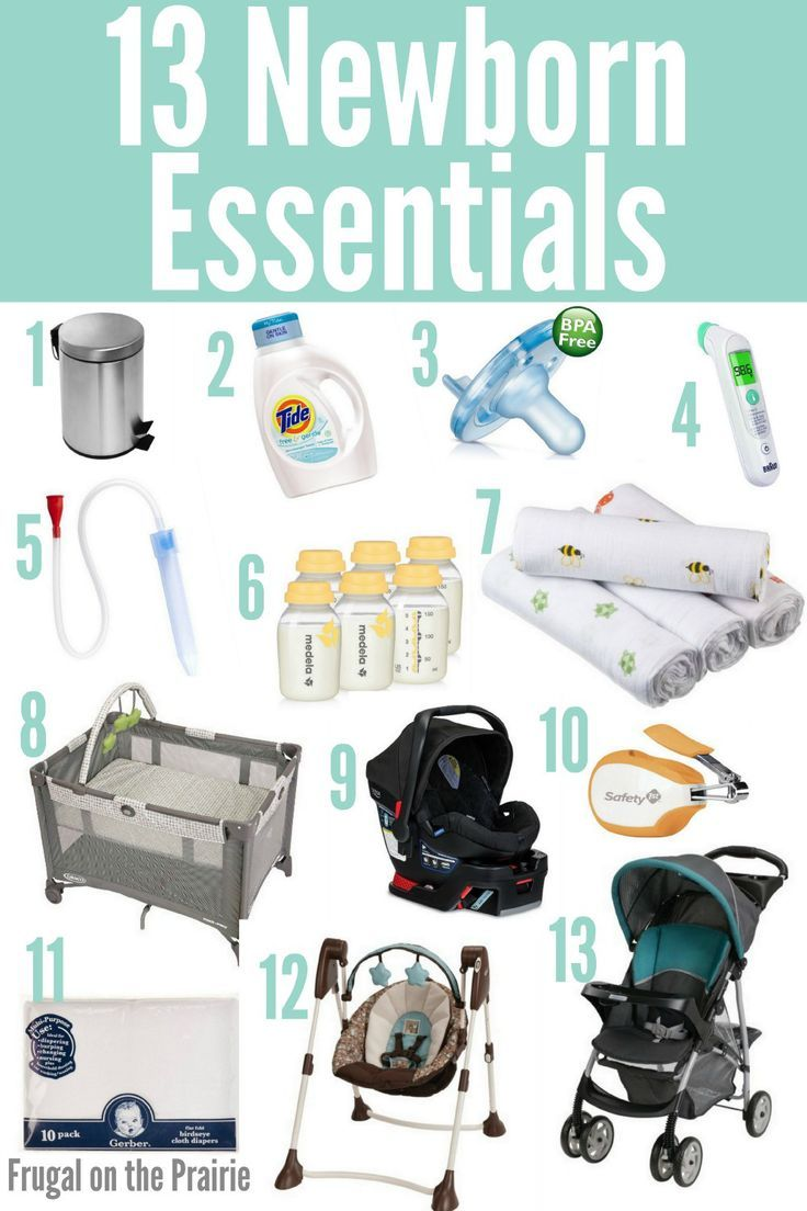 13 Newborn Essentials | Newborn essentials, Baby must ...