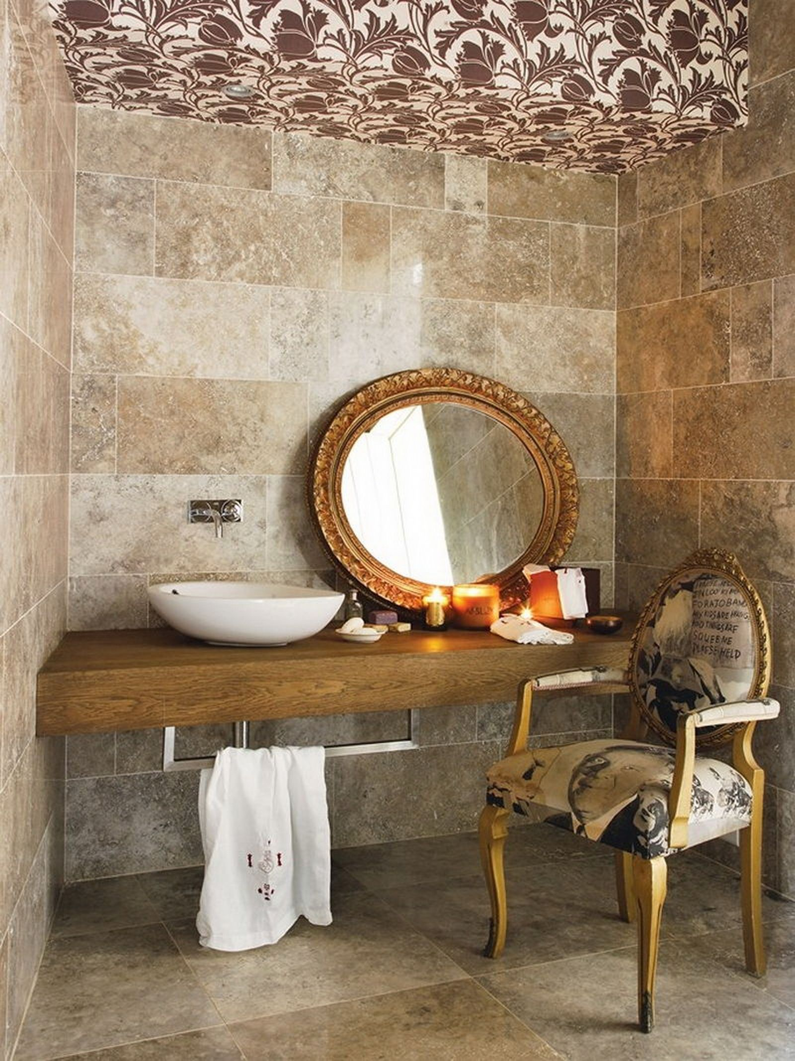 home in johannesburgsouth africa bathroom chairvanity bathroomdesign