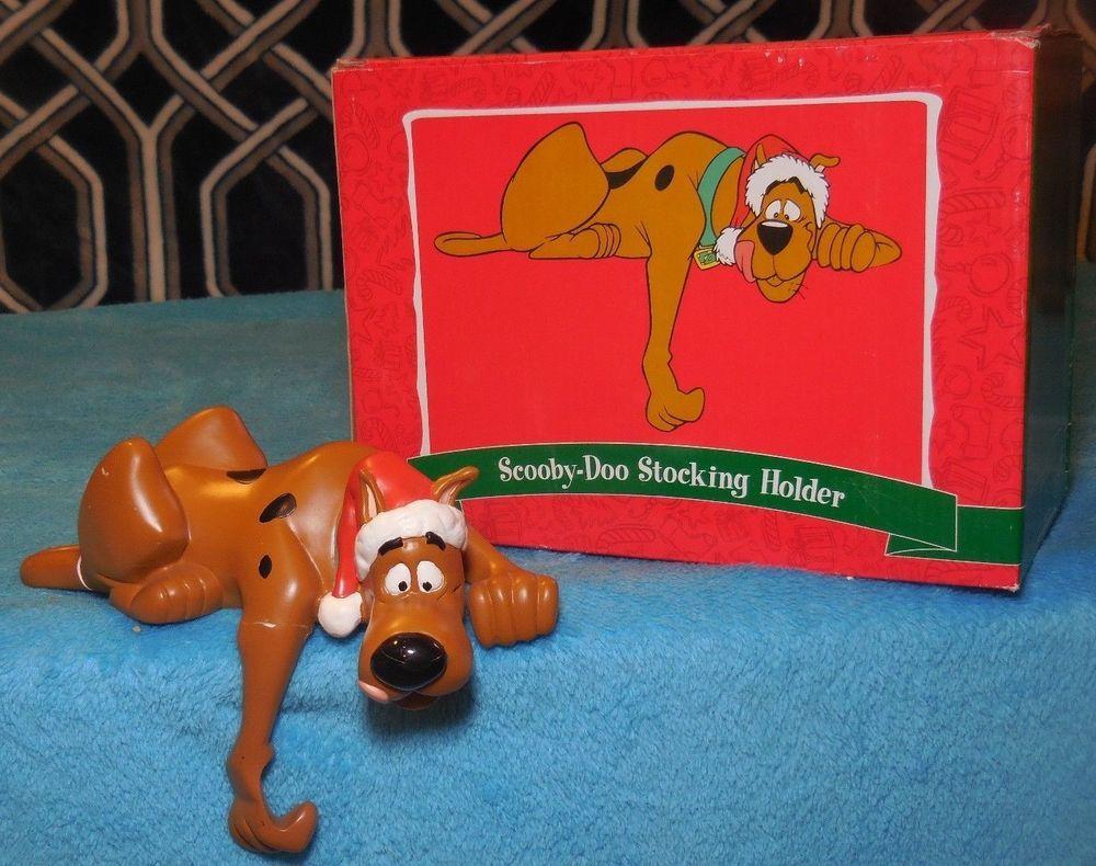 Warner Bros Studio Store Scooby Doo Christmas Stocking Holder -RARE ...