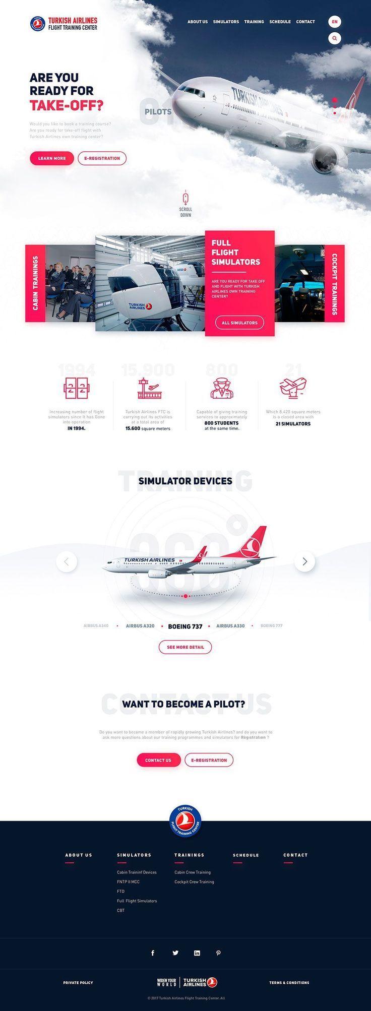 Inspiración. Rediseños para webs de aerolíneas | MlMonferrer