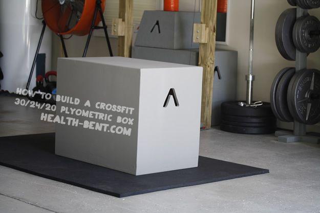 how to make a crossfit 30  24  20 plyometric box