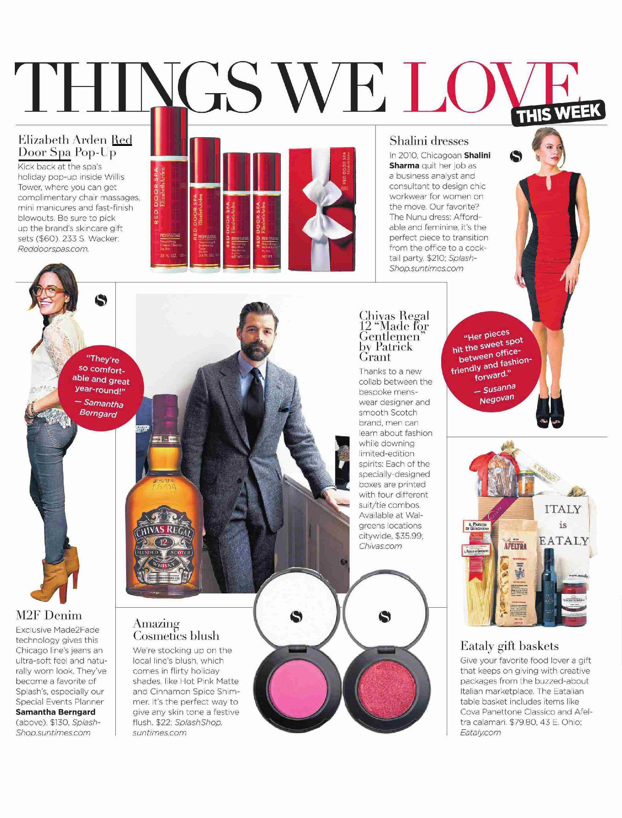Splash Magazine featured Elizabeth Ardenu0027s Red Door Spa Pop-up in Chicago as part of  sc 1 st  Pinterest & Splash Magazine featured Elizabeth Ardenu0027s Red Door Spa Pop-up in ...
