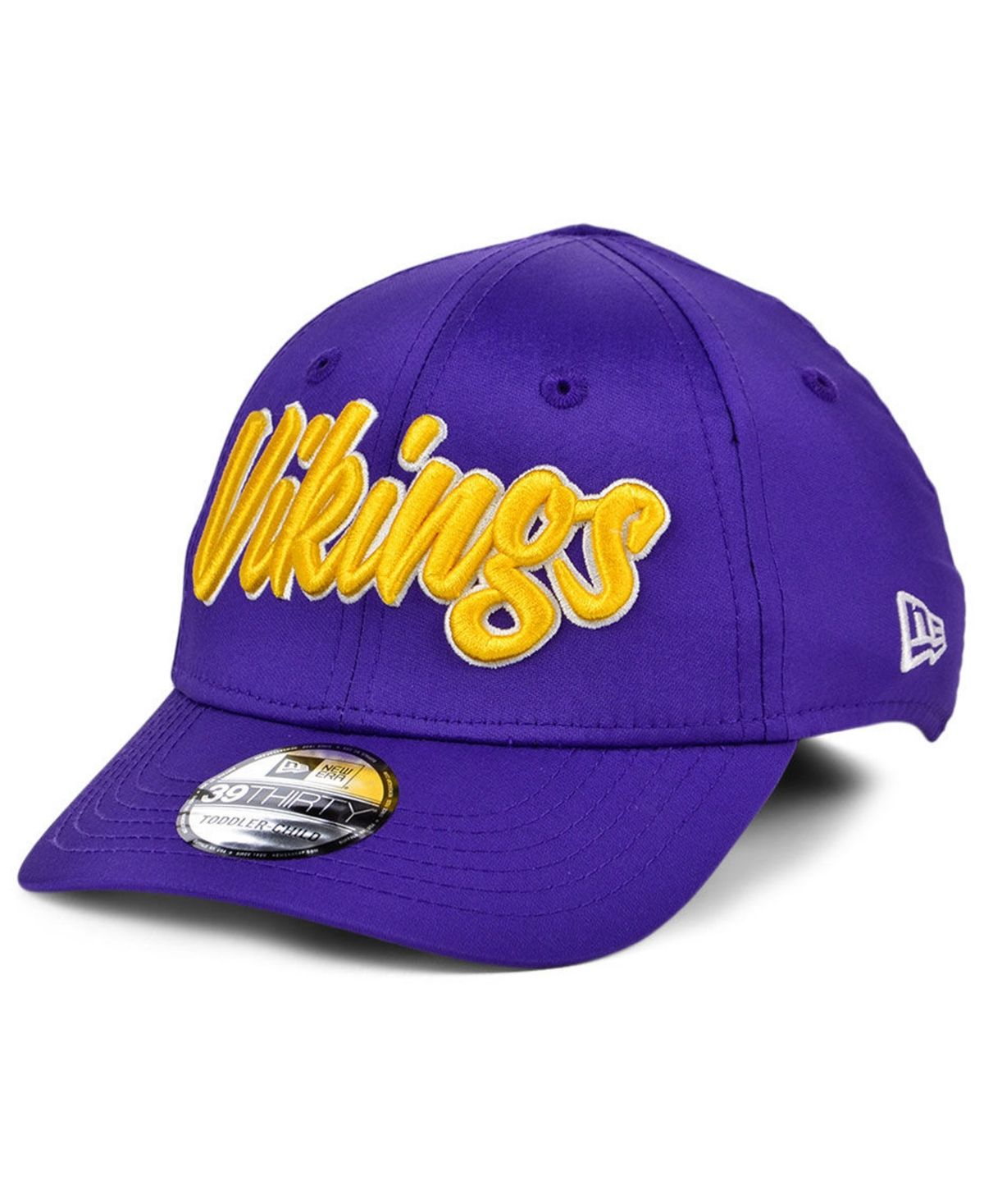 New Era Boys Minnesota Vikings On Field Sideline Home 39thirty Cap Purple New Era Boot Shoes Women Minnesota Vikings