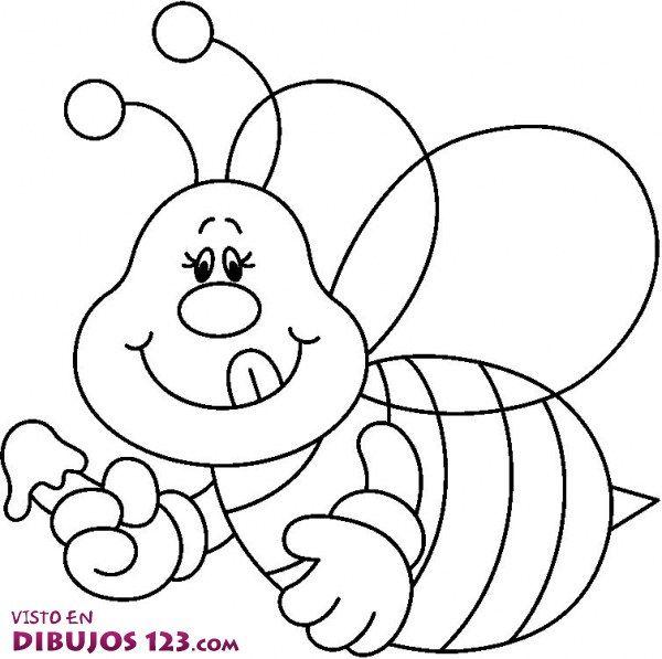 colmena con abejas para colorear - Buscar con Google | Dibujos ...