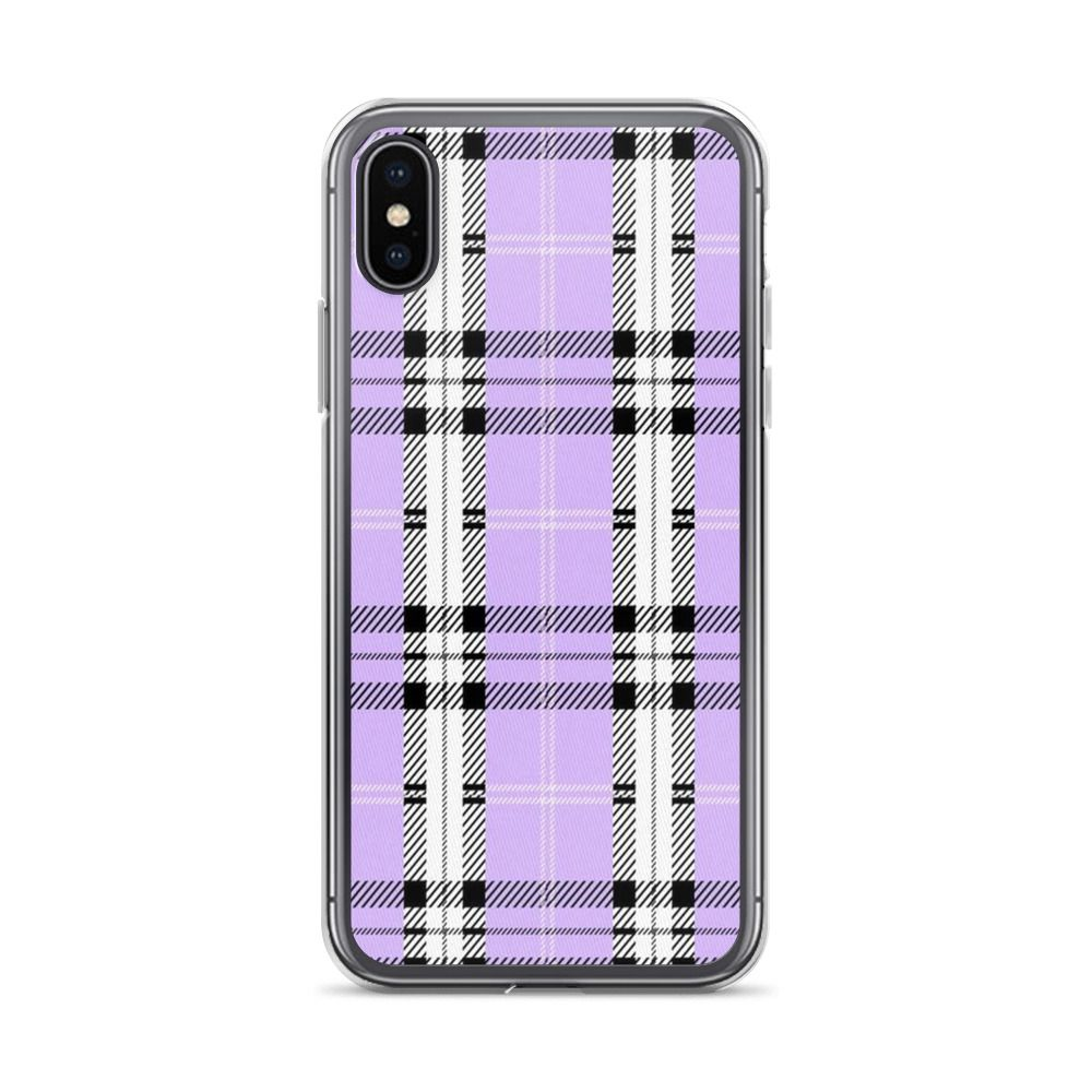 promo code 213bf 296fa Lavender Plaid iPhone Case | Stuff to buy | Iphone cases, Iphone ...