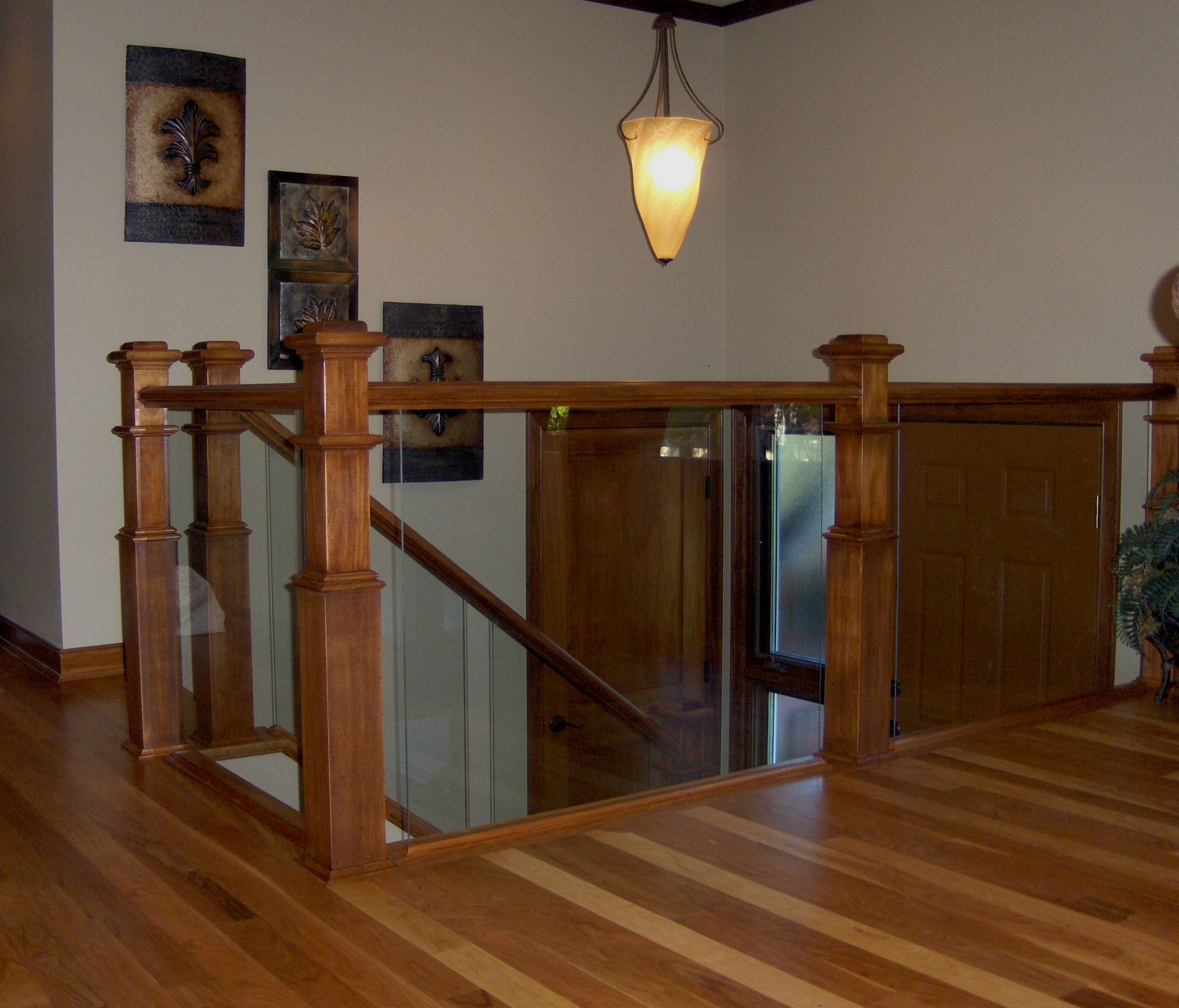 Glass Railings Indoor Ford Metro Glass Deck Railing | Wooden Stairs Railing Design With Glass