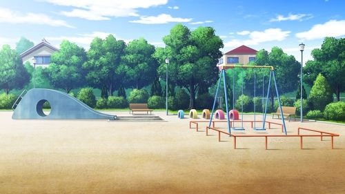 Anime Anime Park And Anime Scenery Image Anime Scenery Anime Background Scenery Background
