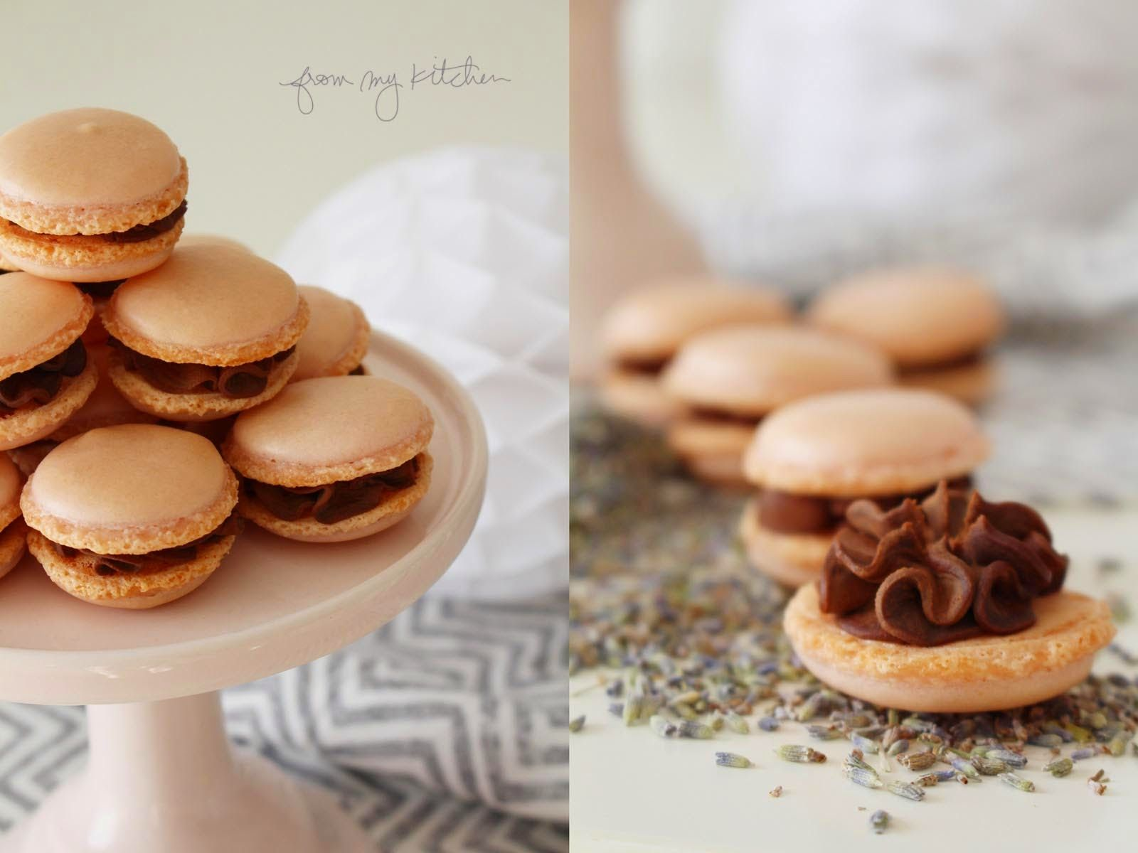 Leaves and Butterflies: Hauchzarte Macarons