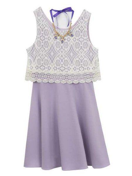 43c1dde66 Tween Lace & Lavender Dress Now in Stock in 2019 | Tween Girls ...