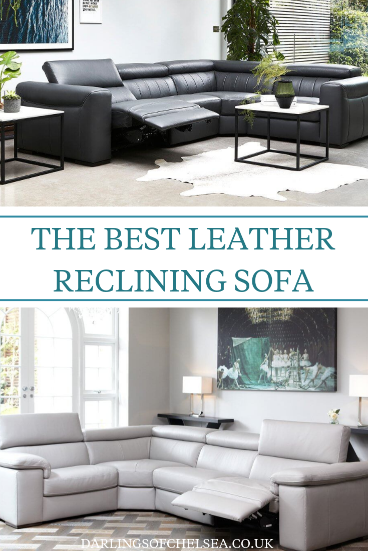 Fine Leather Reclining Sofa Comfy Stylish Uk Interior Design Pdpeps Interior Chair Design Pdpepsorg